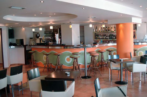 Cafe of Itanos Hotel