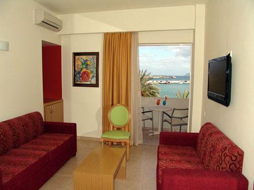 Suite of Itanos Hotel